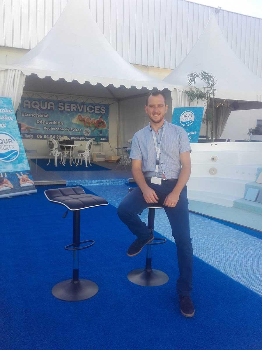 Mr DI MARIA installateur piscine coque