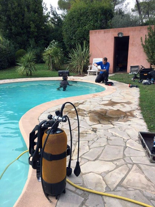 Expert fuite piscine