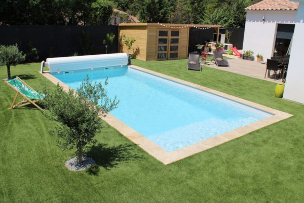 piscine coque Lac de Naussac